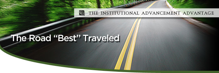 The Institutional Advancement Advantage: The Road Best Traveled